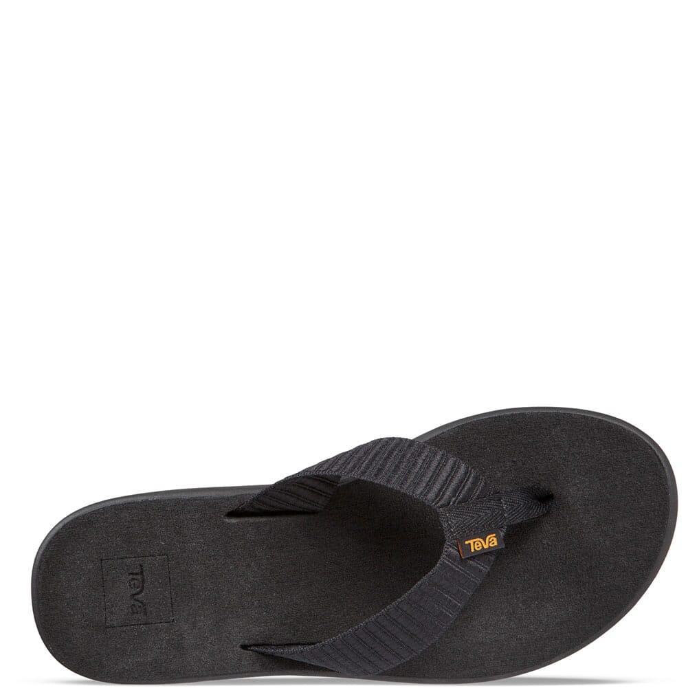 Teva Women's Voya Flip Flop - Bar Street Black