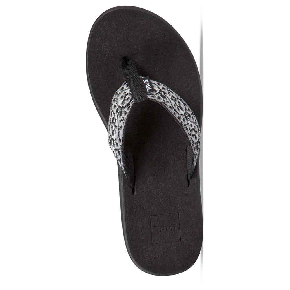 Teva Women's Voya Flip Flop - Companera Black/White