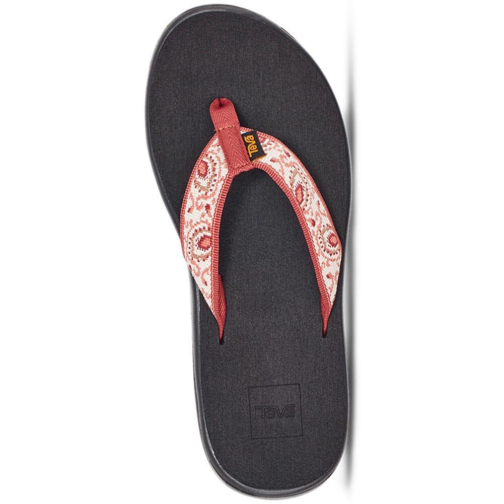 1019040-DBHN Teva Women's Voya Flip Flop - Doria Burnt Henna