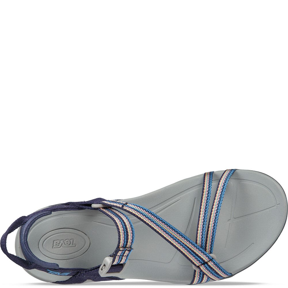 SAML Teva Women's Sirra Sandals - Spili Apricot Multi