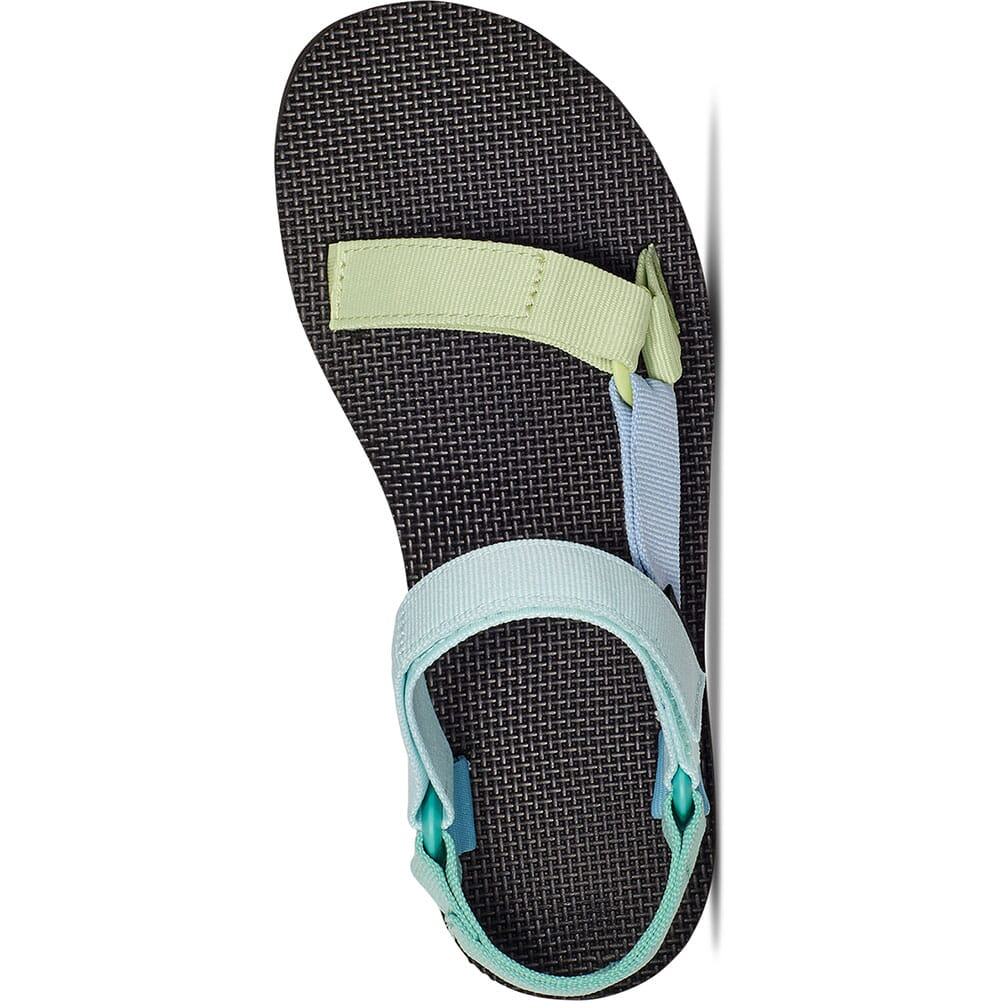 1090969-LGRM Teva Women's Midform Universal Sandals - Light Green Multi
