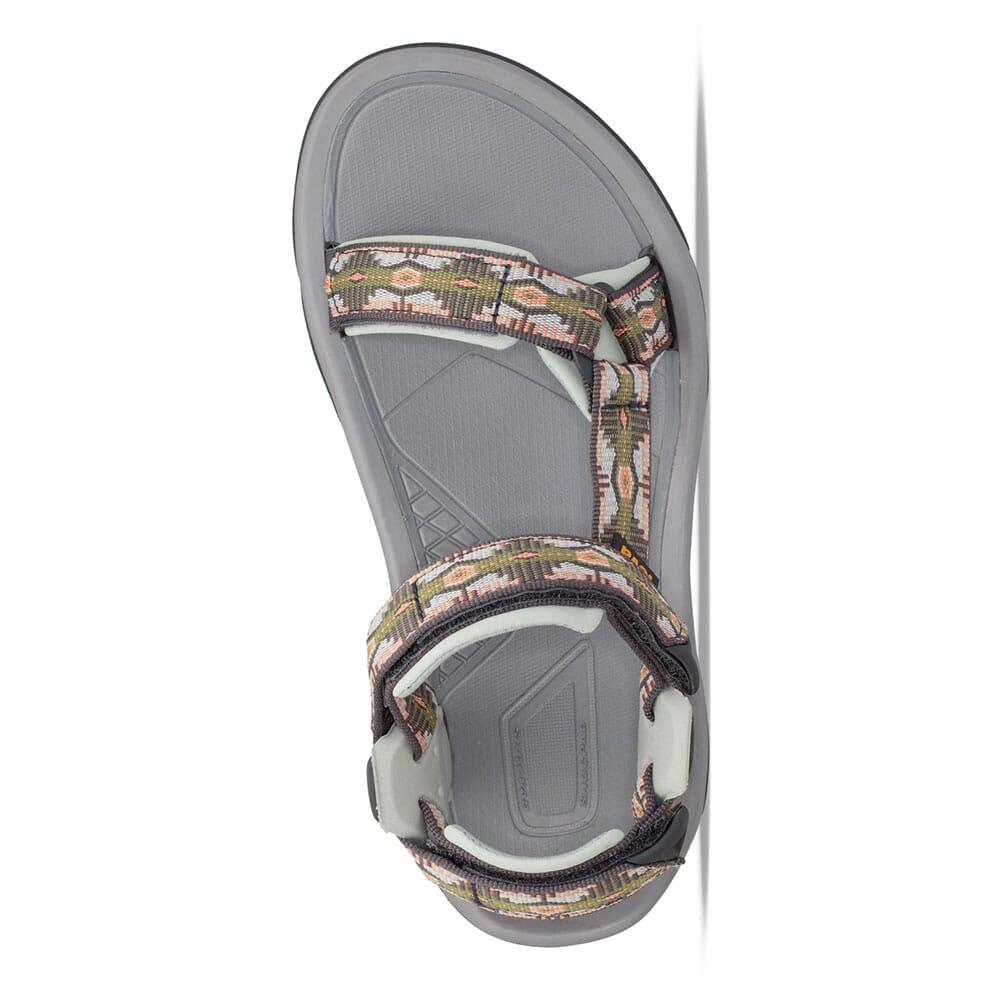 1099443-CCGRN Teva Women's Terra FI 5 Universal Sandals - Canyon Calliste Green