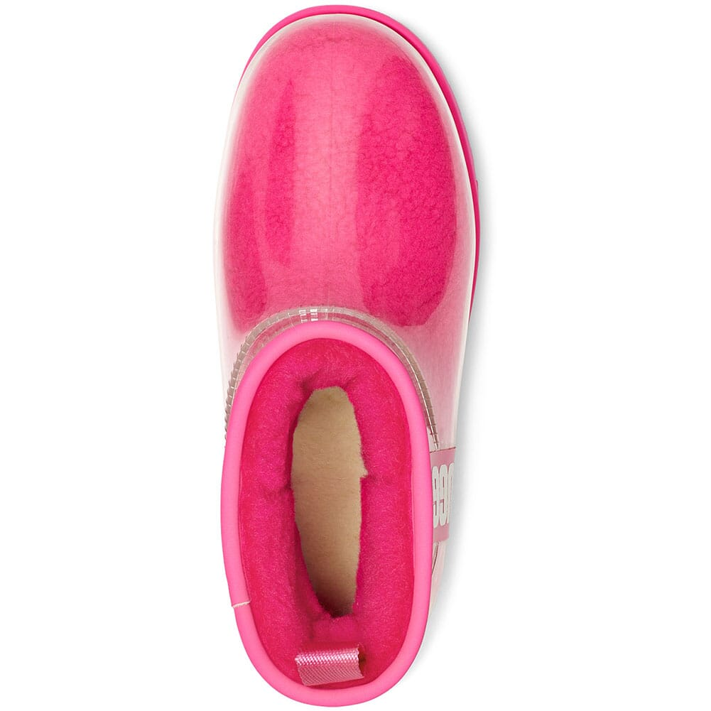 1113190-RCR UGG Women's Classic Clear Mini Casual Boots - Rock Rose