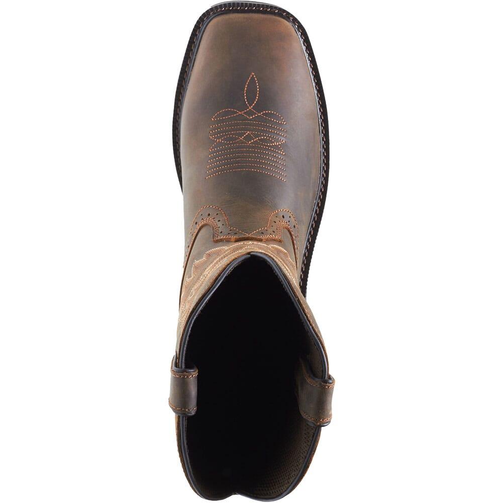Wolverine Men's Rancher Safety Boots - Dark Brown/Rust