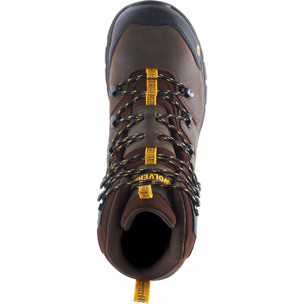 Wolverine Men's Contractor LX CM Safety Boots - Dark Coffee