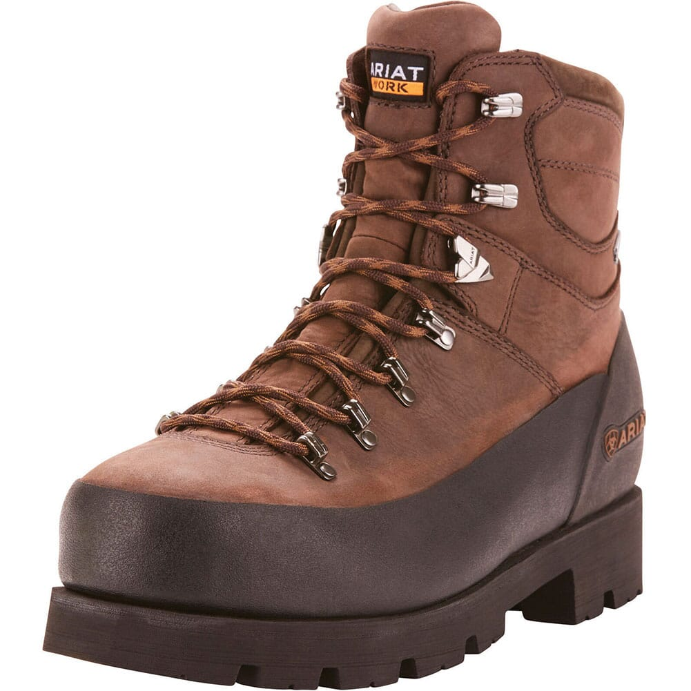 Ariat Men's Linesman Ridge Safety Boots - Bitter Brown