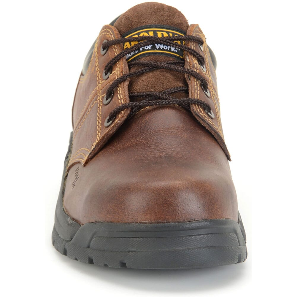 Carolina Men's Broad Toe ESD Safety Oxford - Brown