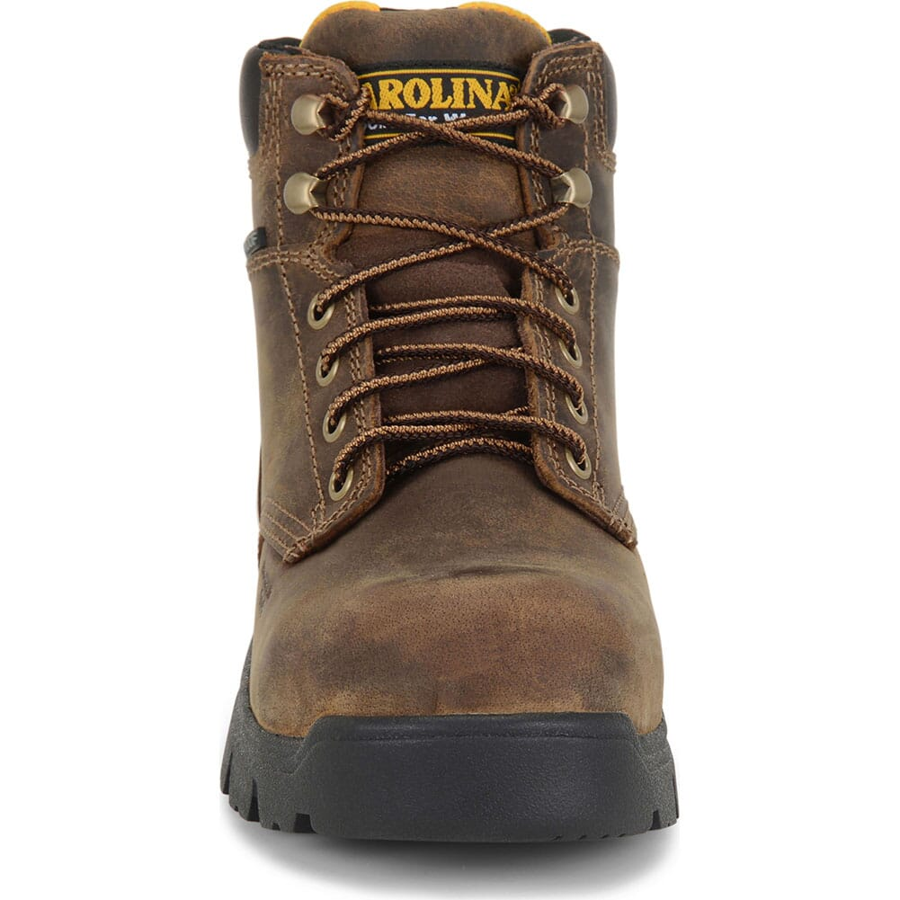 Carolina Women's Circuit Safety Boots - Brown