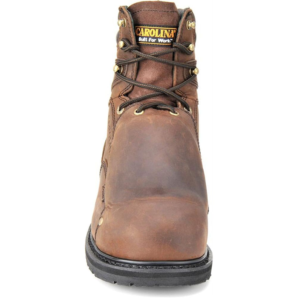Carolina Men's 8IN Safety Boots - Brown