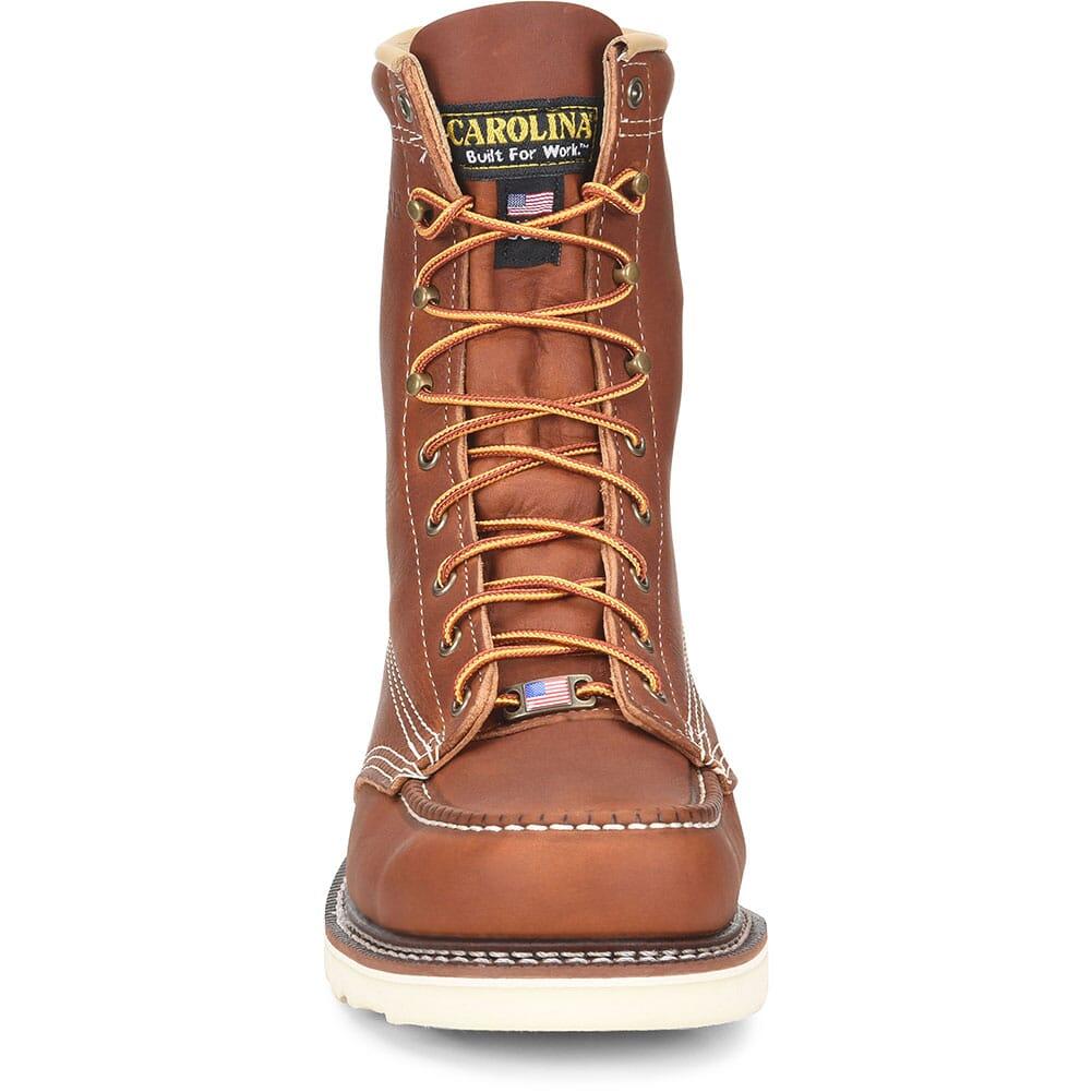 Carolina Men's AMP Wedge Work Boots - Tobacco