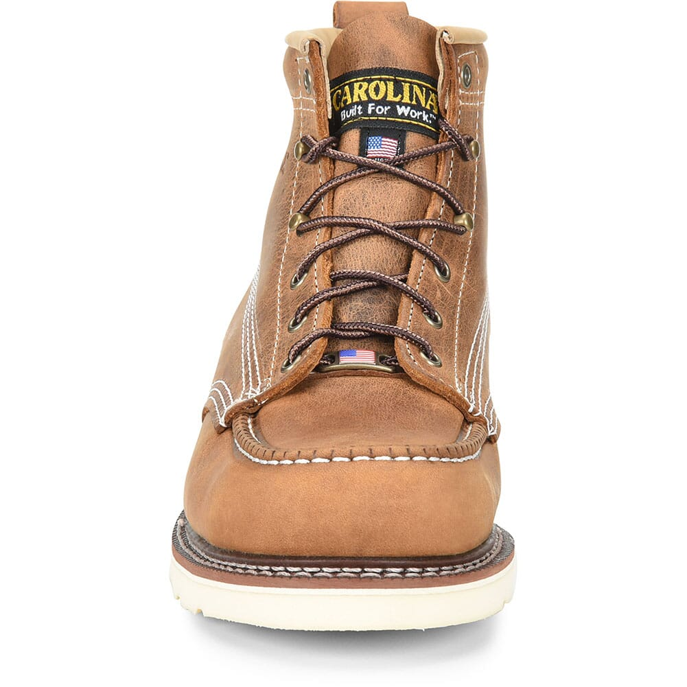 Carolina Men's AMP Work Boots - Brown