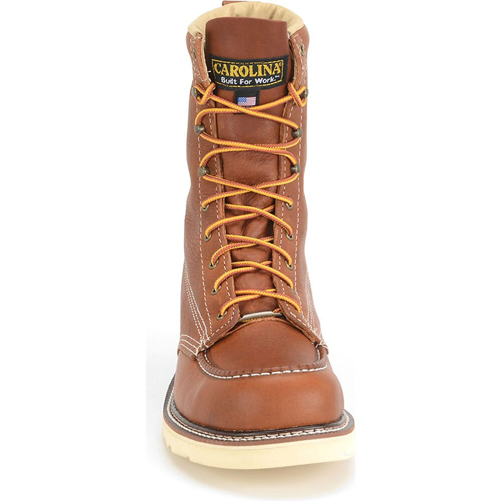Carolina Men's AMP Wedge Safety Boots - Tobacco