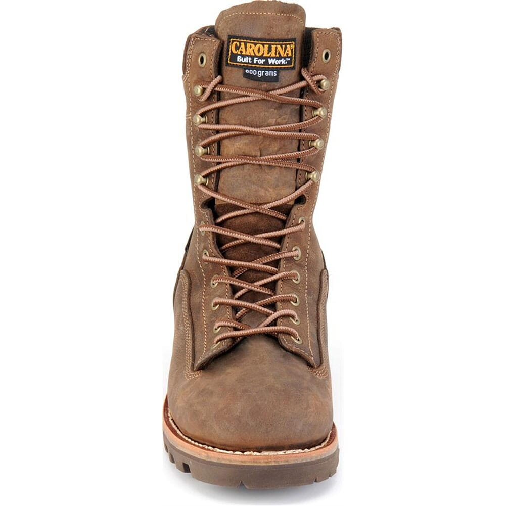 Carolina Men's WP Membrane Safety Boots - Brown