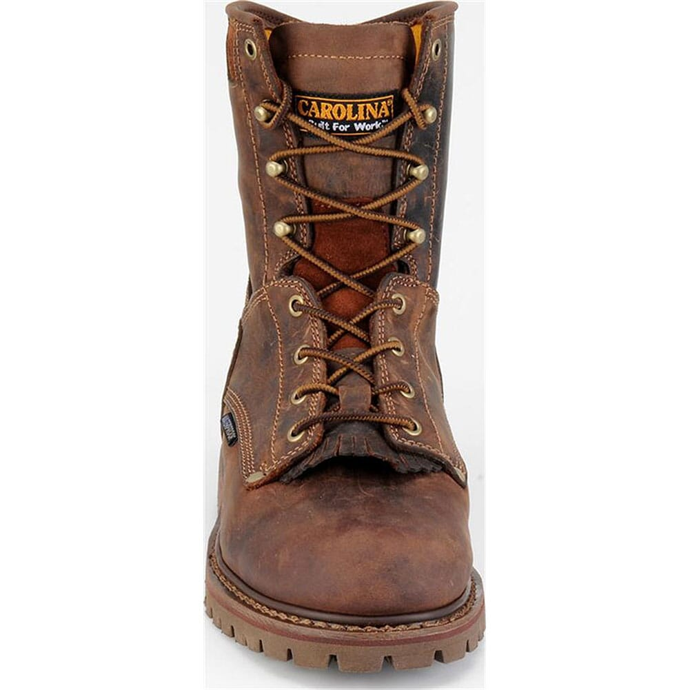 Carolina Men's 8IN Grizzly Work Boots - Cigar