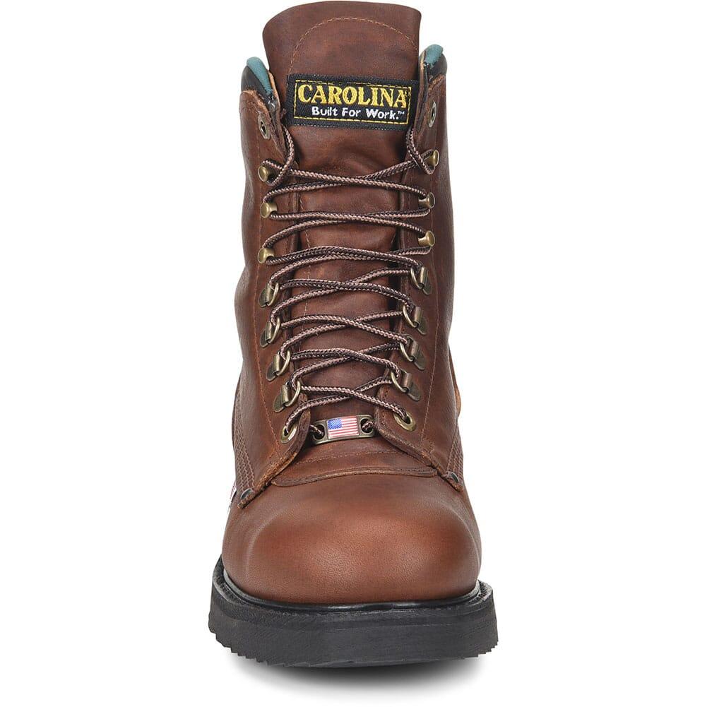 Carolina Men's Sarge Hi Work Boots - Amber Gold