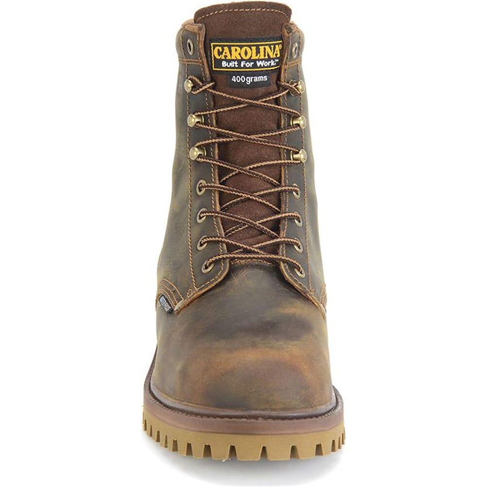 Carolina Men's Waterproof Ins Safety Boots - Brown