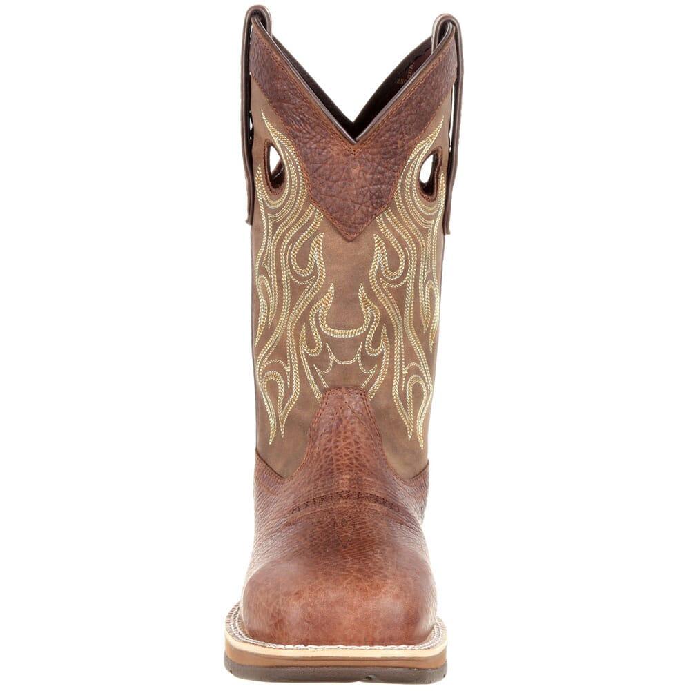 Durango Men's Waterproof Safety Boots - Distressed Brown/Tan