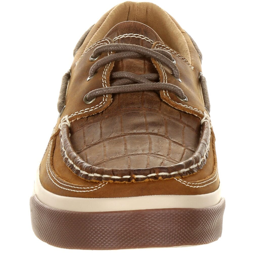 Durango Music City Men's Gator Emboss Boat Shoes - Gator Emboss Grand Ol