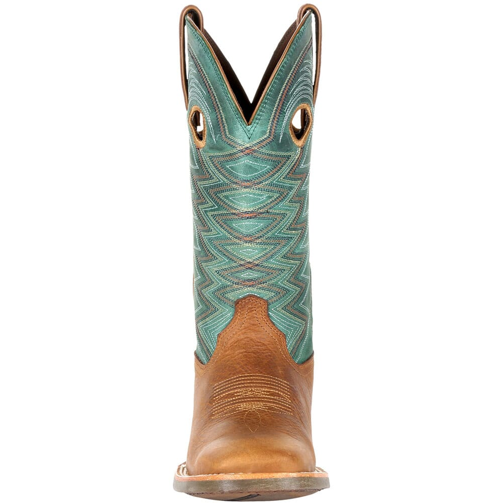 DRD0353 Durango Women's Lady Rebel Pro Western Boots - Wheat/Tidal Teal