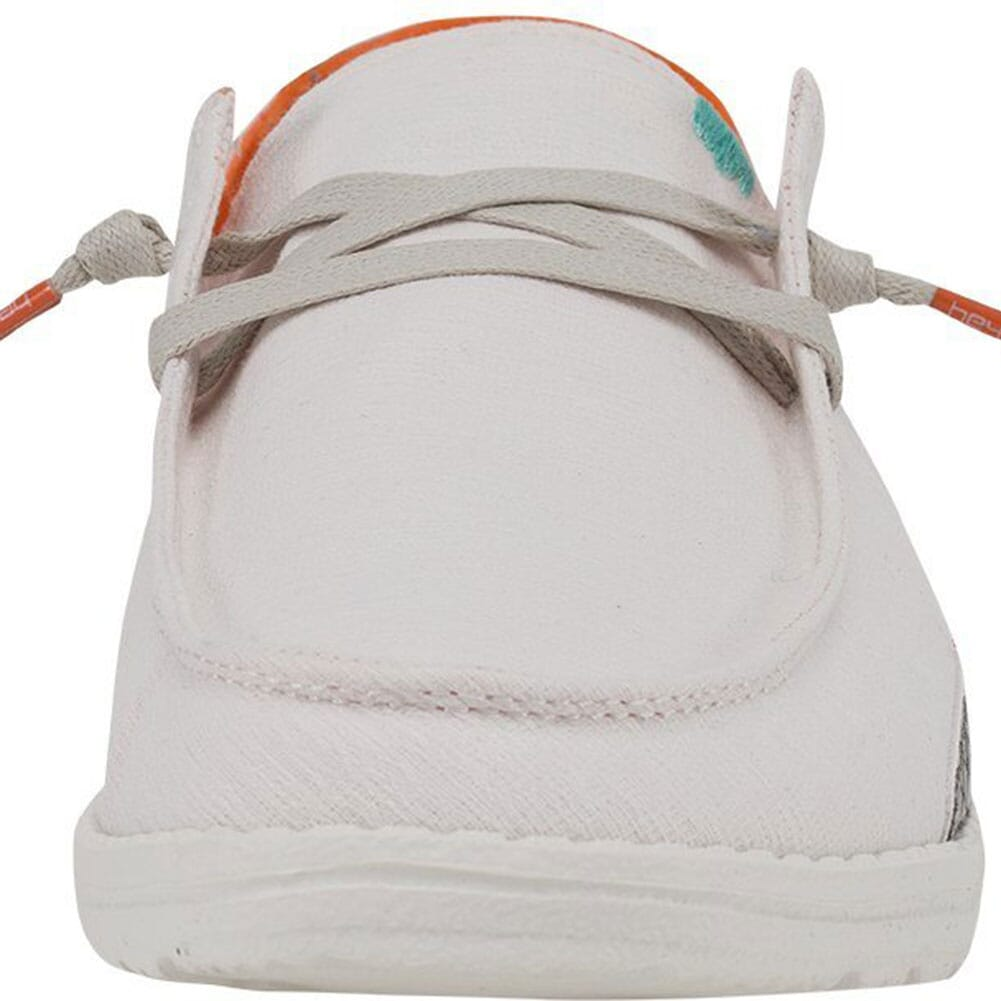 121410182 Hey Dude Women's Wendy Snake Casual Shoes - White