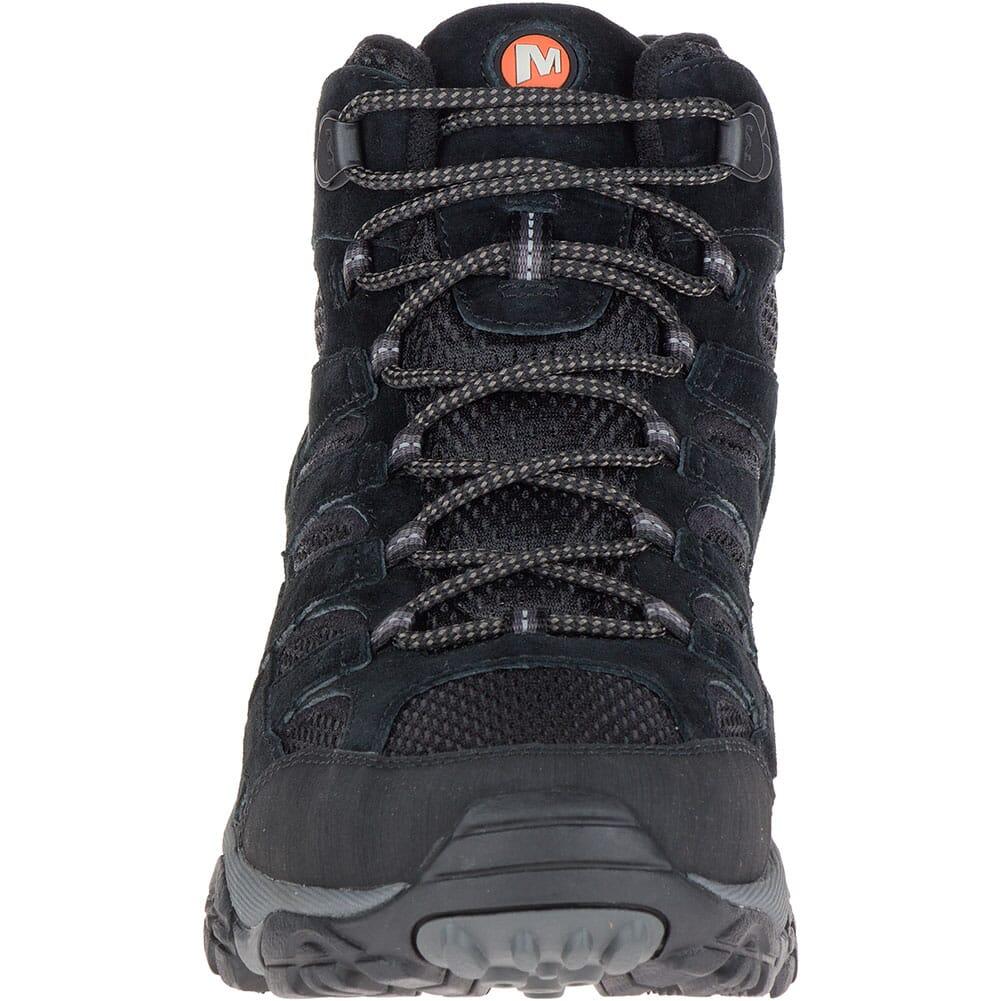 Merrell Men's Moab 2 Mid Ventilator Wide Hiking Boots - Black Night