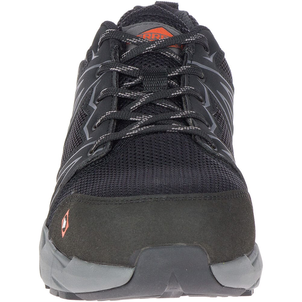 Merrell Men's Fullbench Superlite Safety Shoes - Black