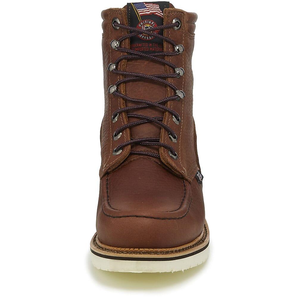 Justin Original Men's Carpenter Work Boots - Brown