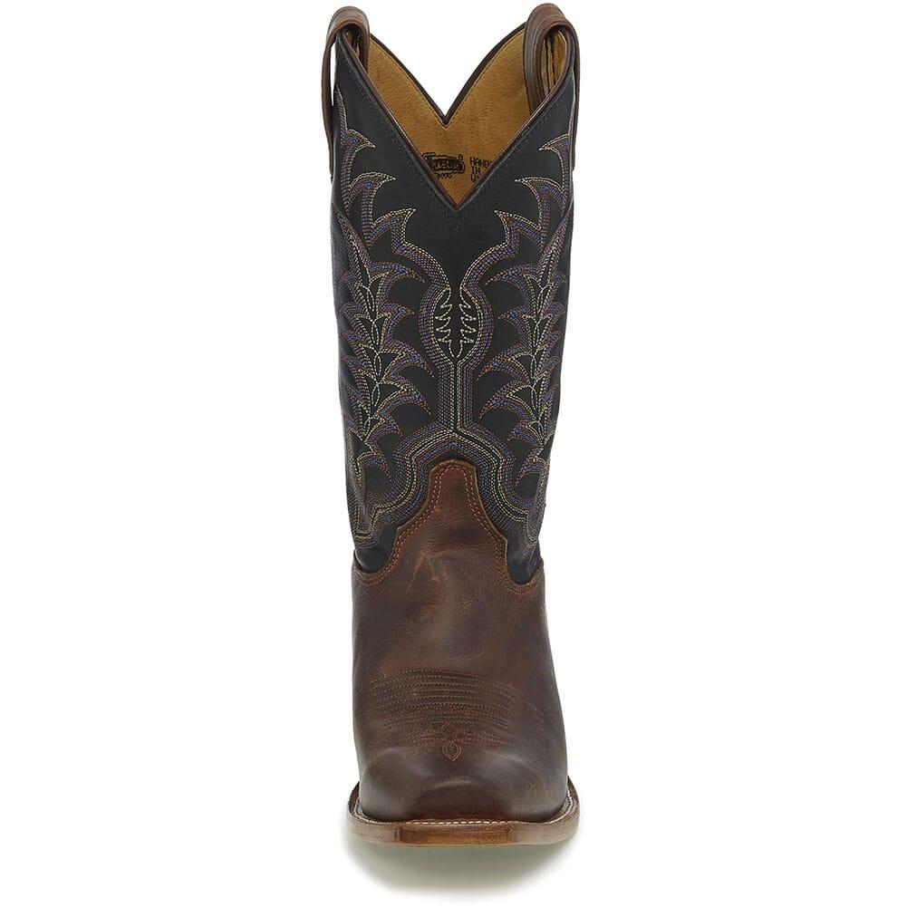 Justin Men's Hank Western Boots - Brown
