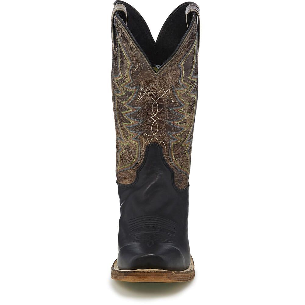Justin Men's Navigator Western Boots - Testa Testa/Black Jersey