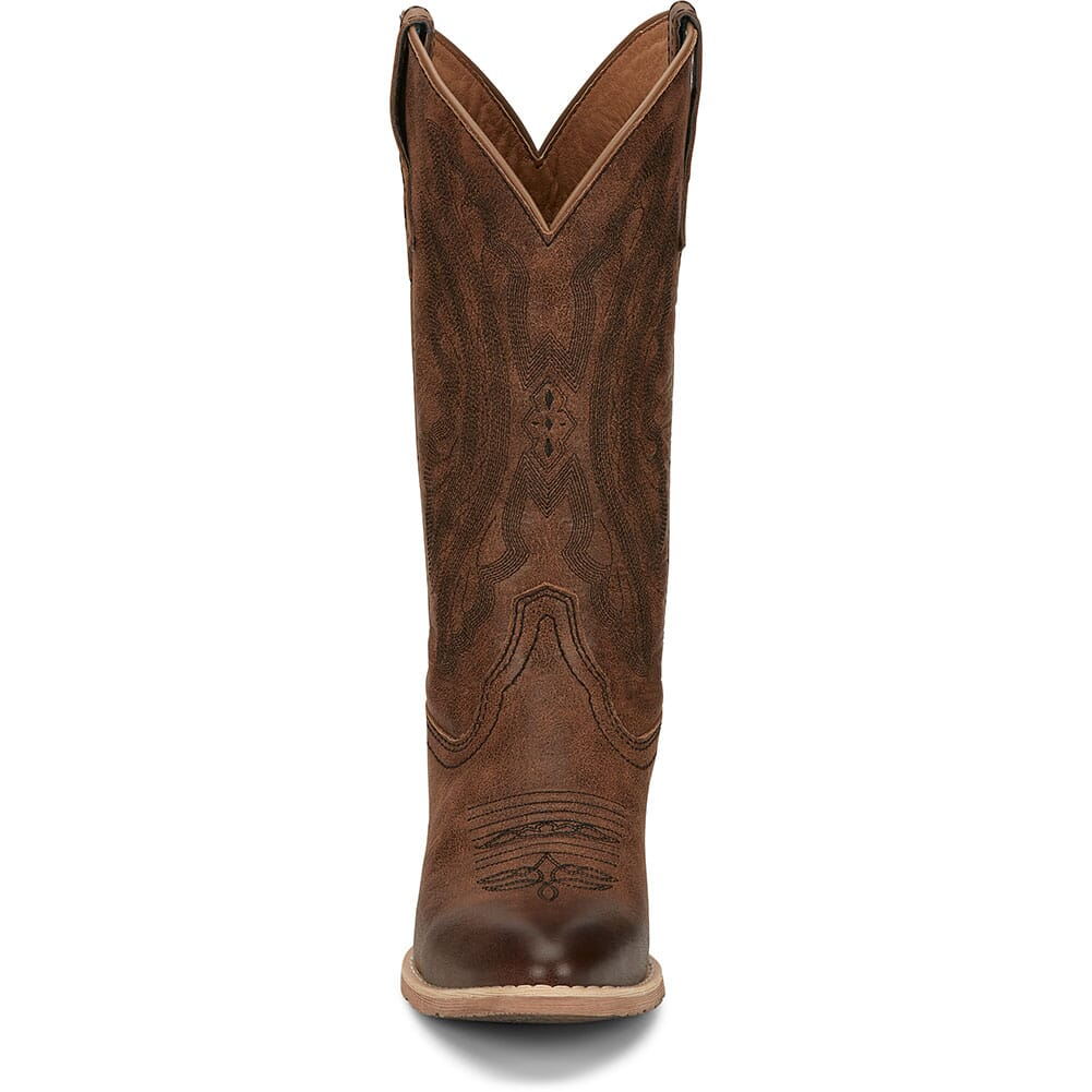 L2960 Justin Women's Roanie Western Boots - Sand Brown