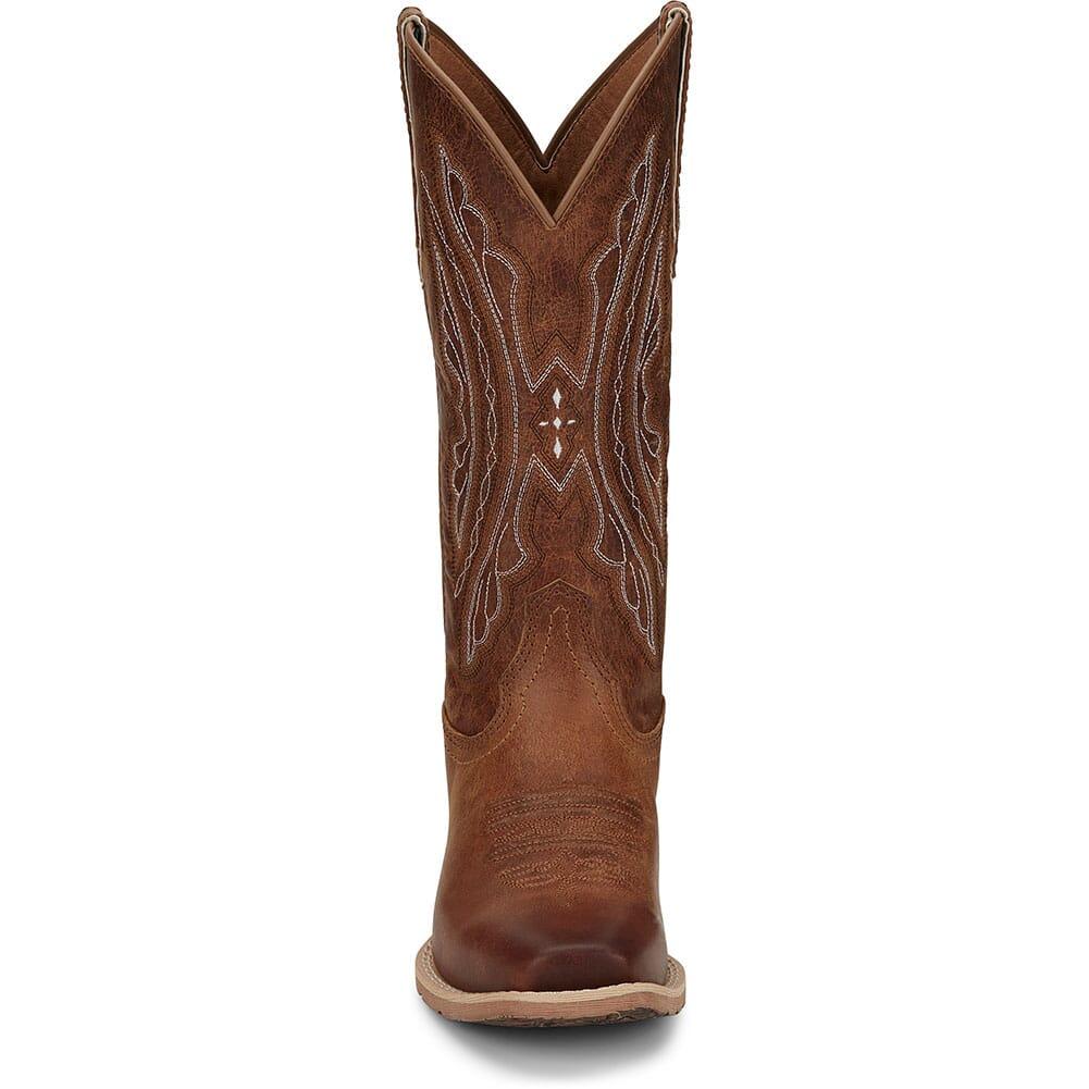 L2962 Justin Women's Rein Western Boots - Waxy Tan