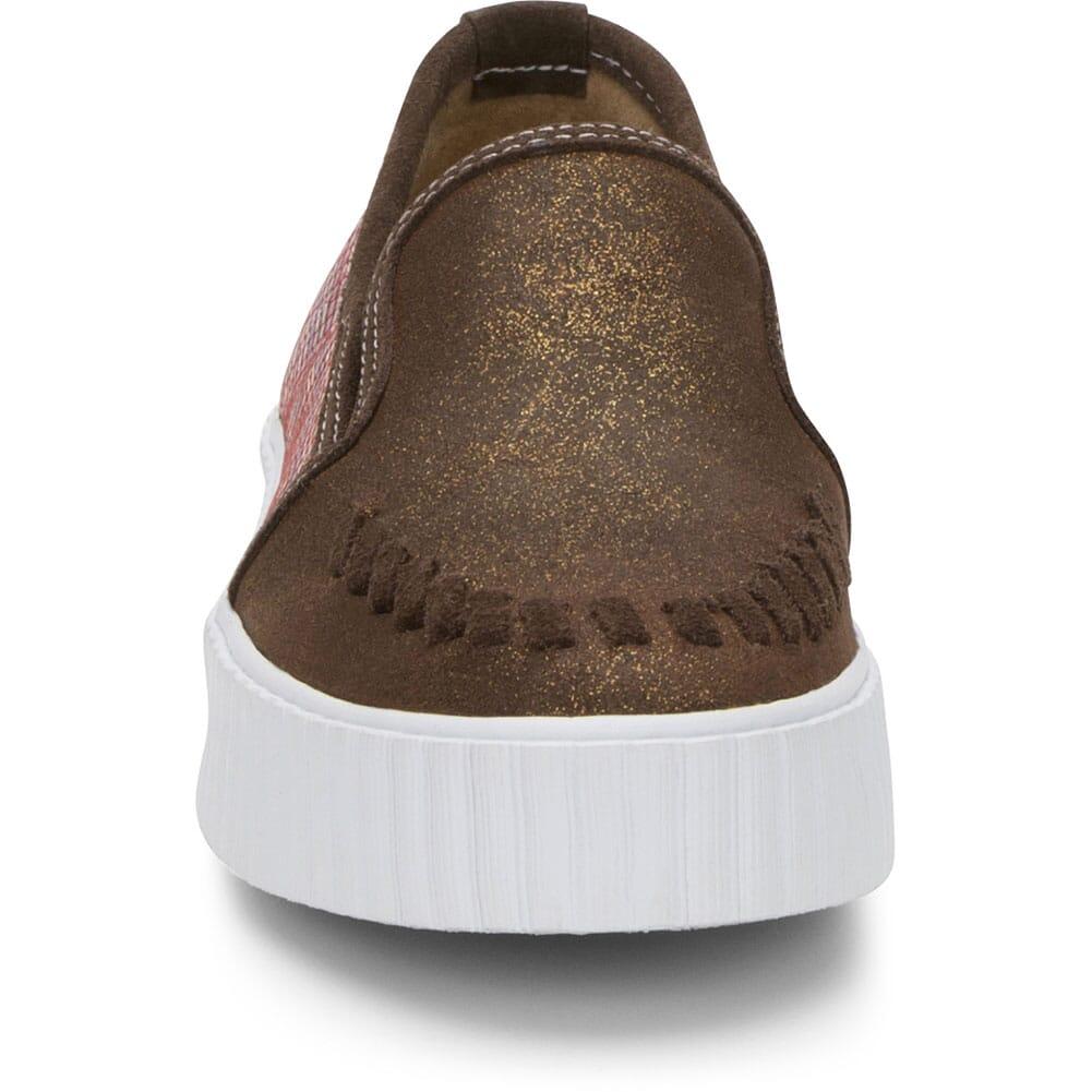 RML093 Justin Women's Helen Casual Sneakers - Cognac