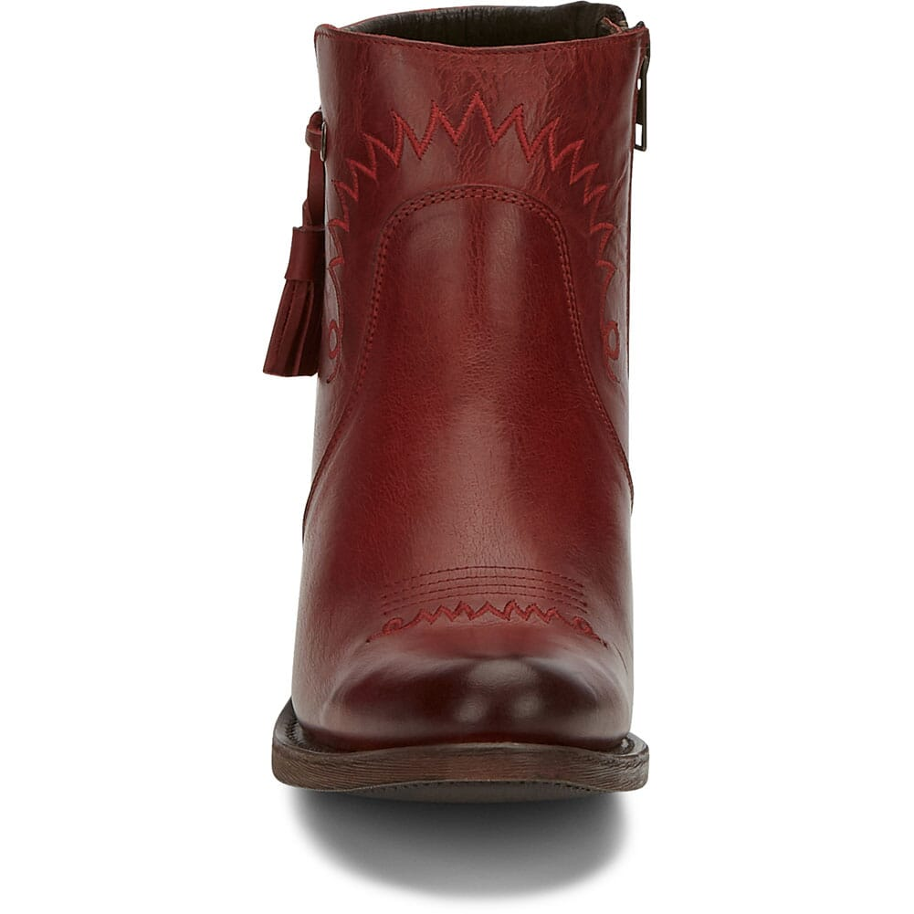 RML130 Justin Women's Nel Casual Boots - Red