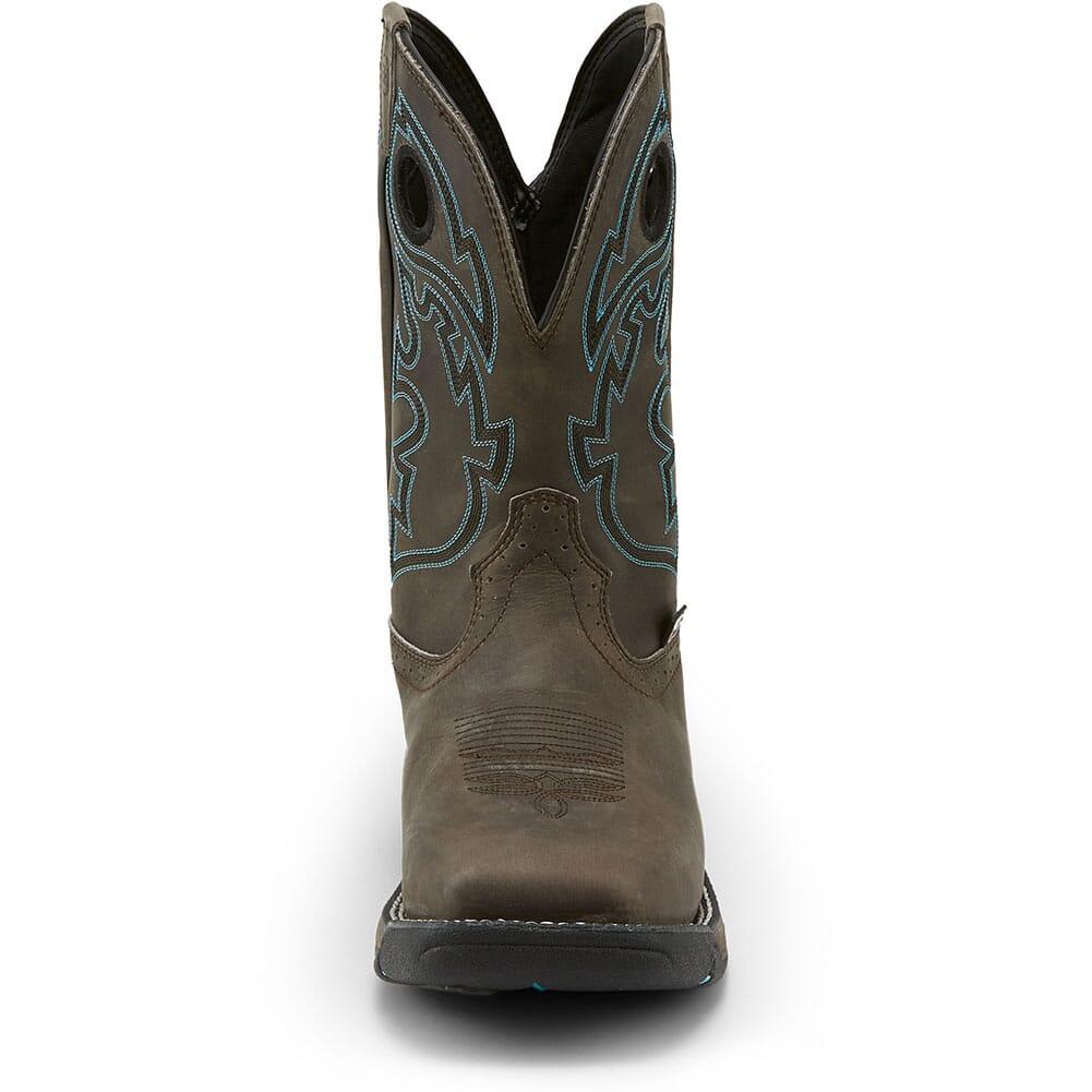 Justin Original Men's Stampede Rush Work Boots - Magnetic Steel