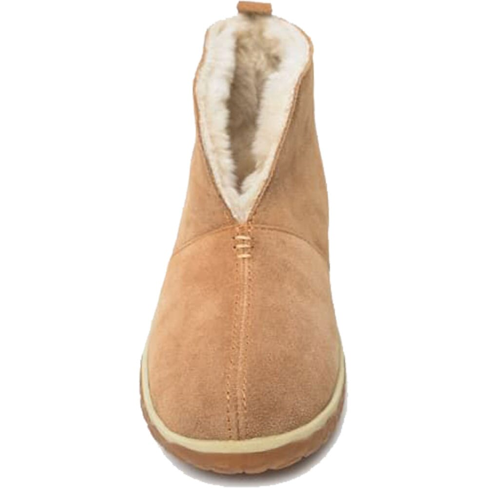 40112 Minnetonka Women's Tucson Sheepskin Moccasins - Cinnamon