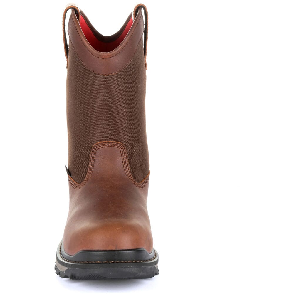 Rocky Men's Rams Horn WP Safety Boots - Dark Brown