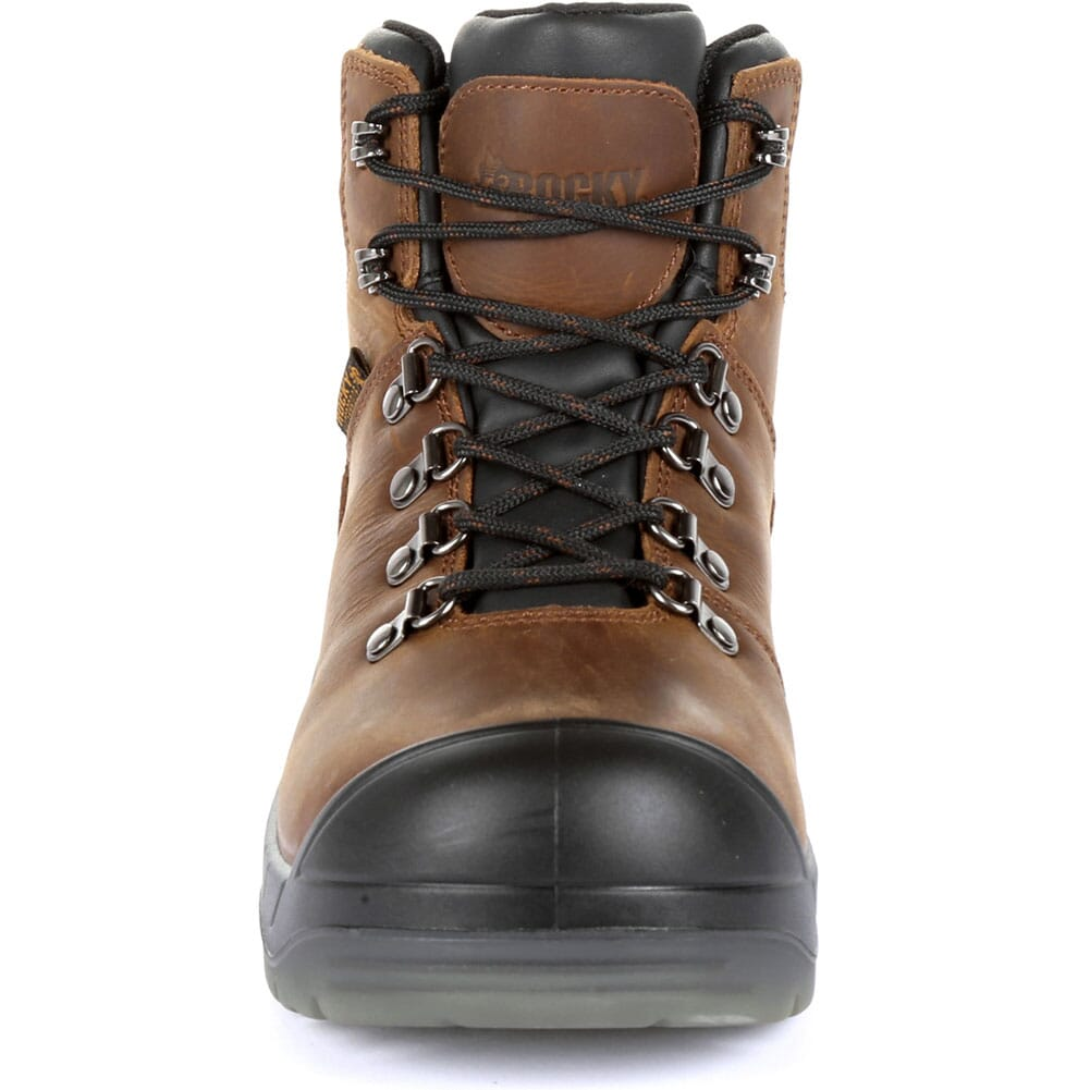 Rocky Women's Worksmart Safety Boots - Brown