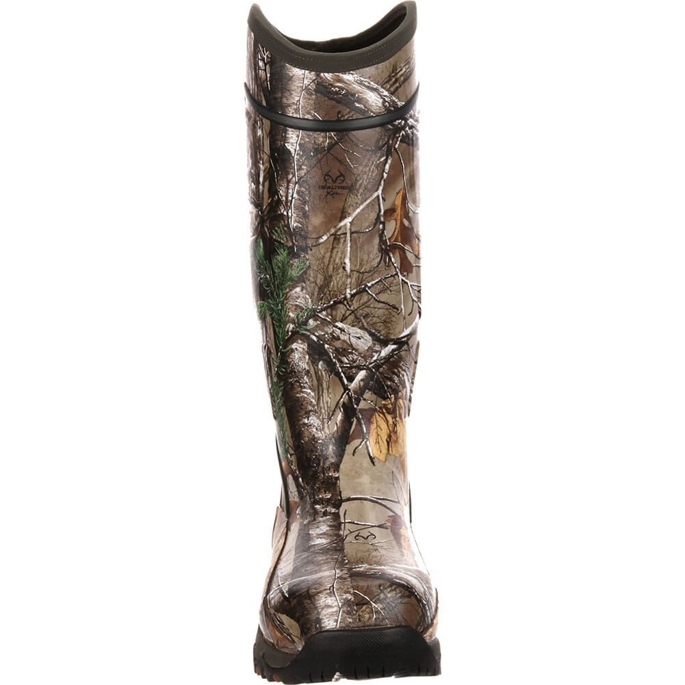 Rocky Core Men's Rubber WP Outdoor Boots - Realtree Xtra