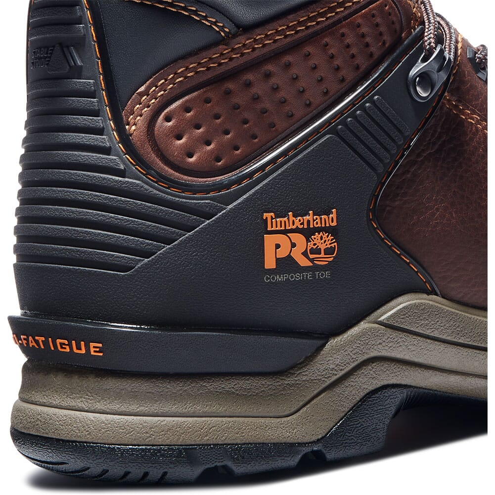 A1VHQ214 Timberland Pro Men's Hypercharge Safety Boots - Brown