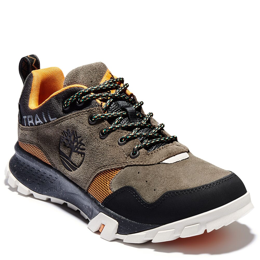 A23F5901 Timberland Men's Garrison Trail WP Hiking Shoes - Canteen