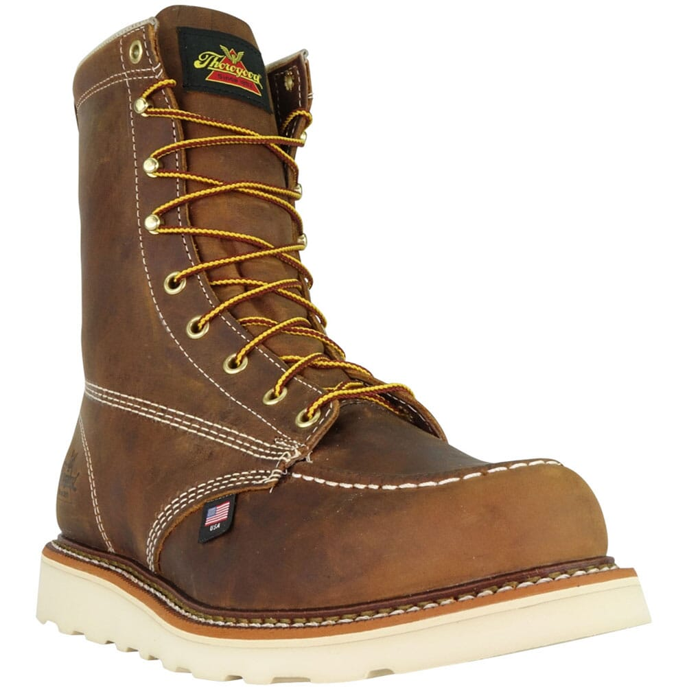 Thorogood Men's American Heritage Safety Boots - Crazyhorse