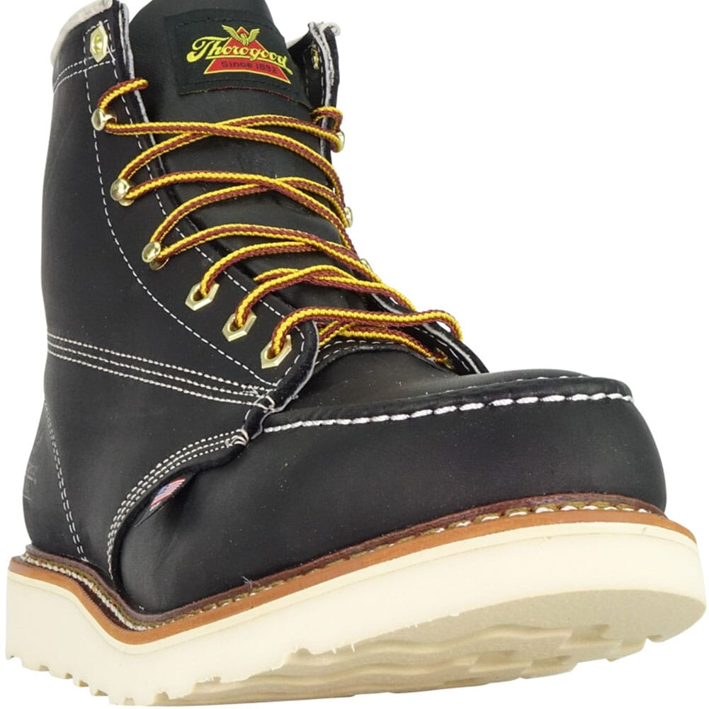 Thorogood Men's American Heritage Safety Boots - Black