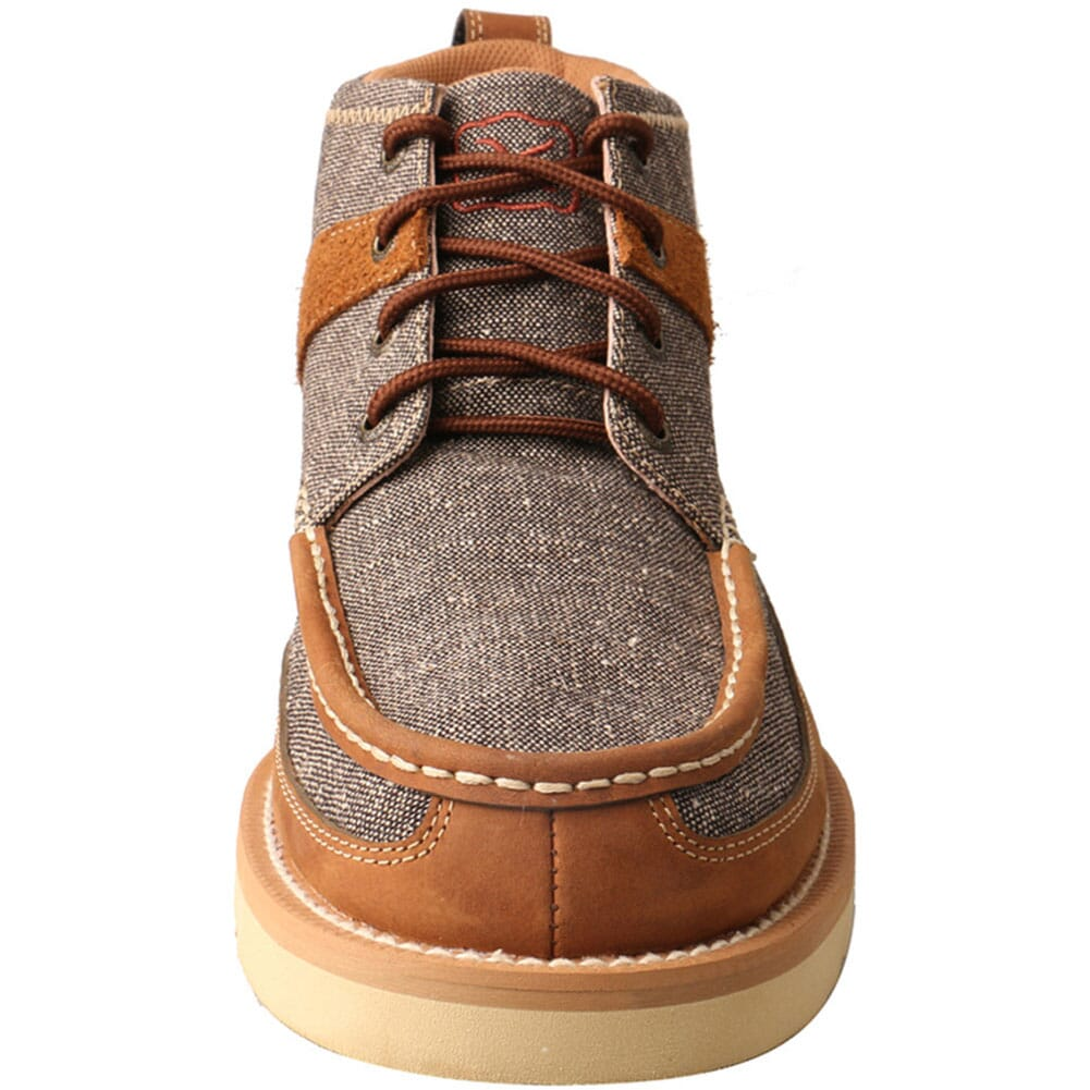 MCA0018 Twisted X Men's Wedge Sole Casual Shoes - Dust Brown