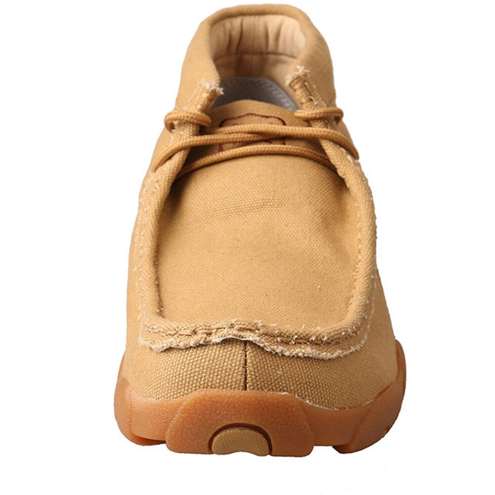 Twisted X Men's Driving Moccasin Shoes - Khaki Canvas