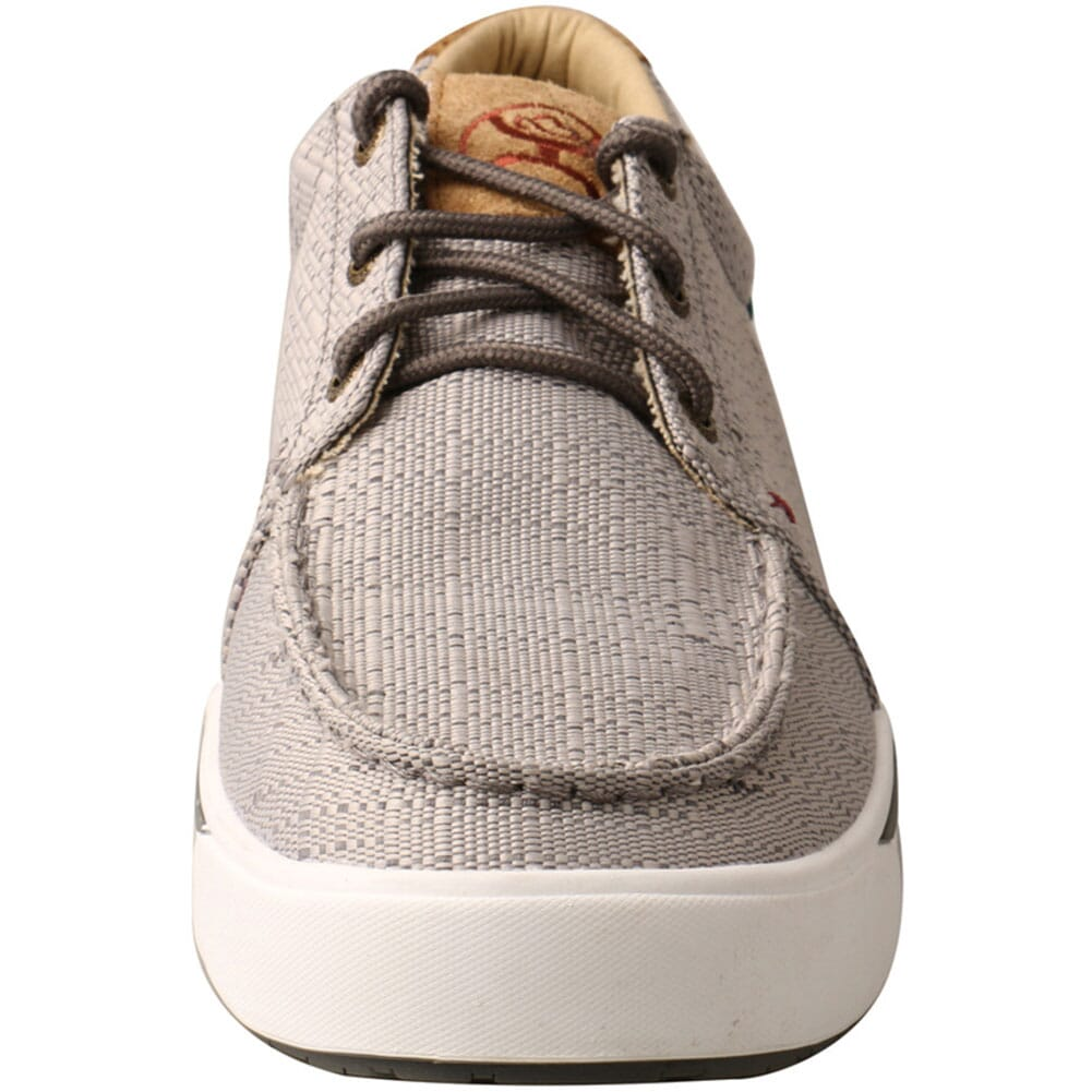 MHYC018 Twisted X Men's Hooey Loper Casual Shoes - Light Grey
