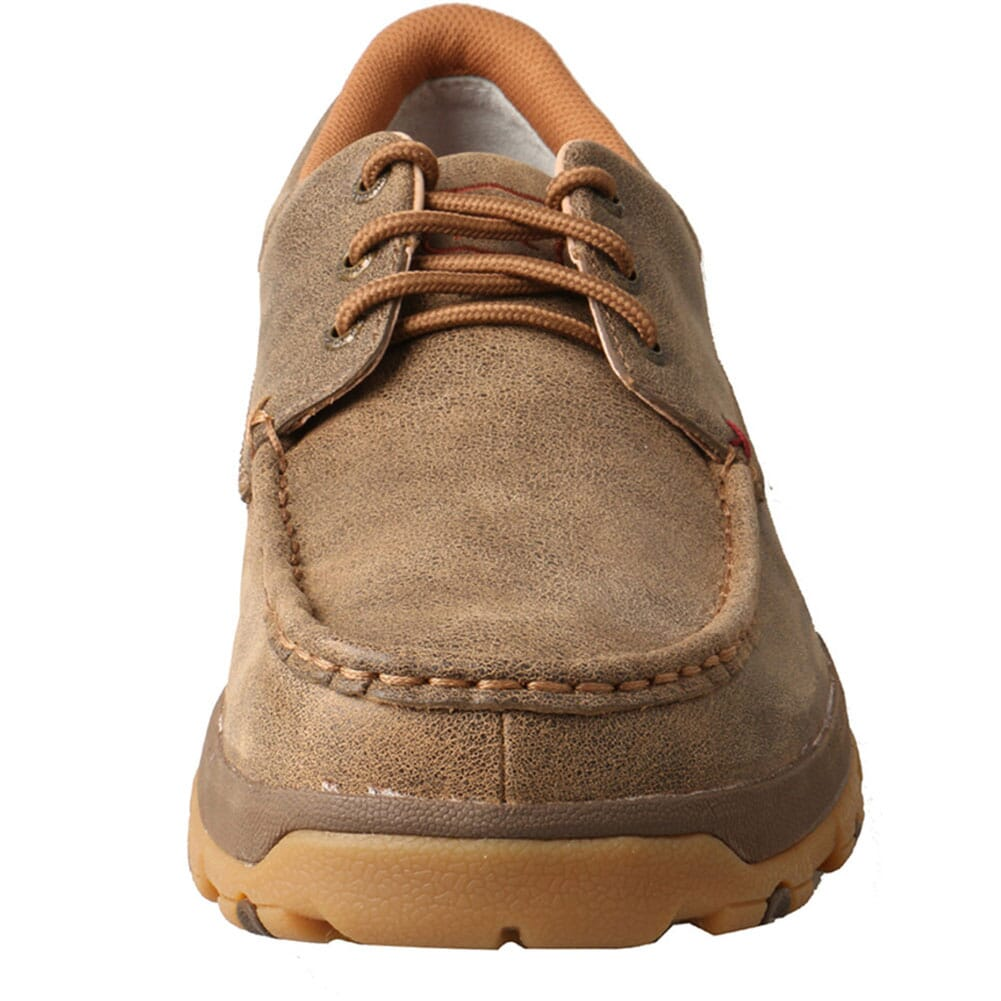 MXC0002 Twisted X Men's CellStretch Driving Moc Boat Shoes - Bomber