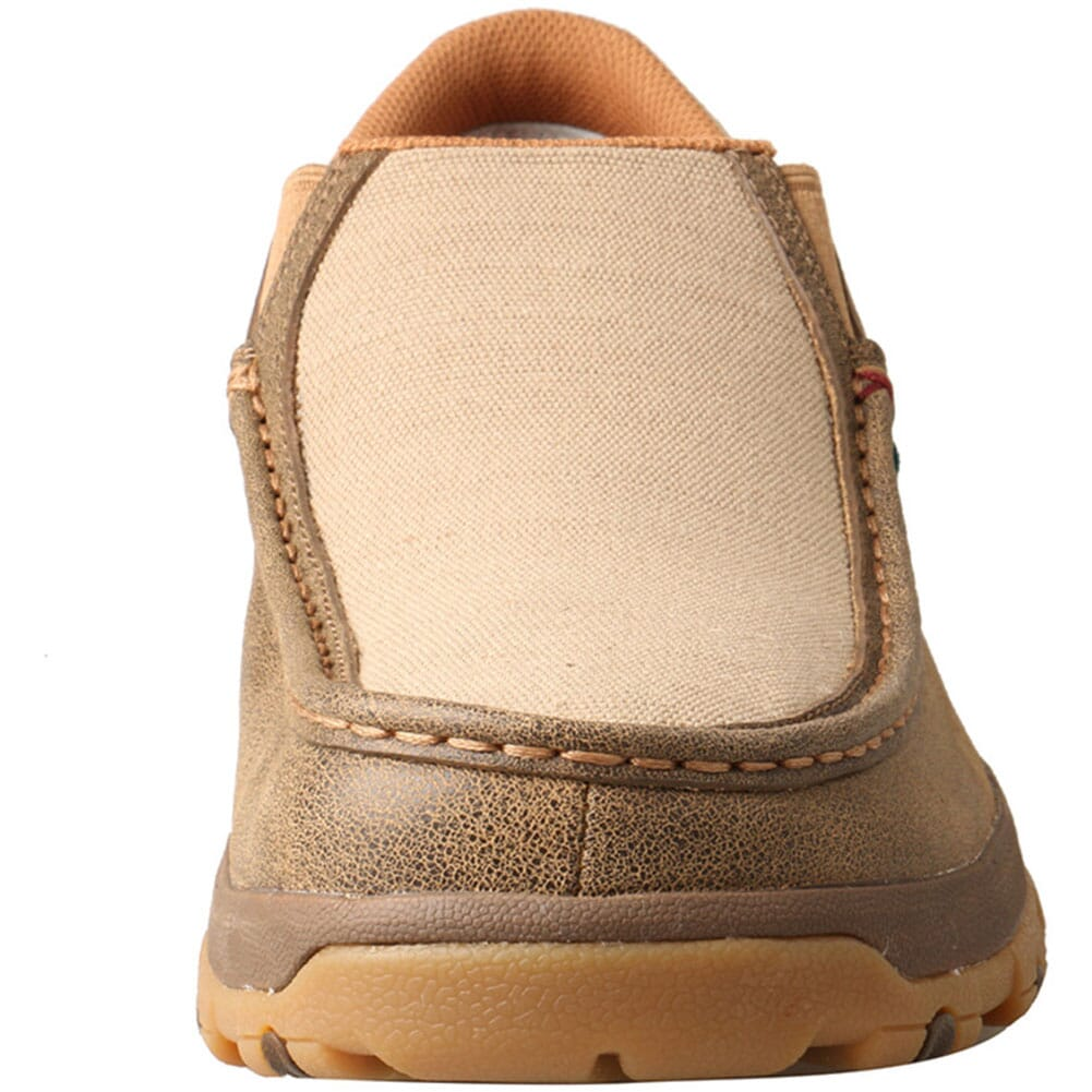 MXC0004 Twisted X Men's CellStretch Driving Moc Slip On Shoes - Bomber/Khaki