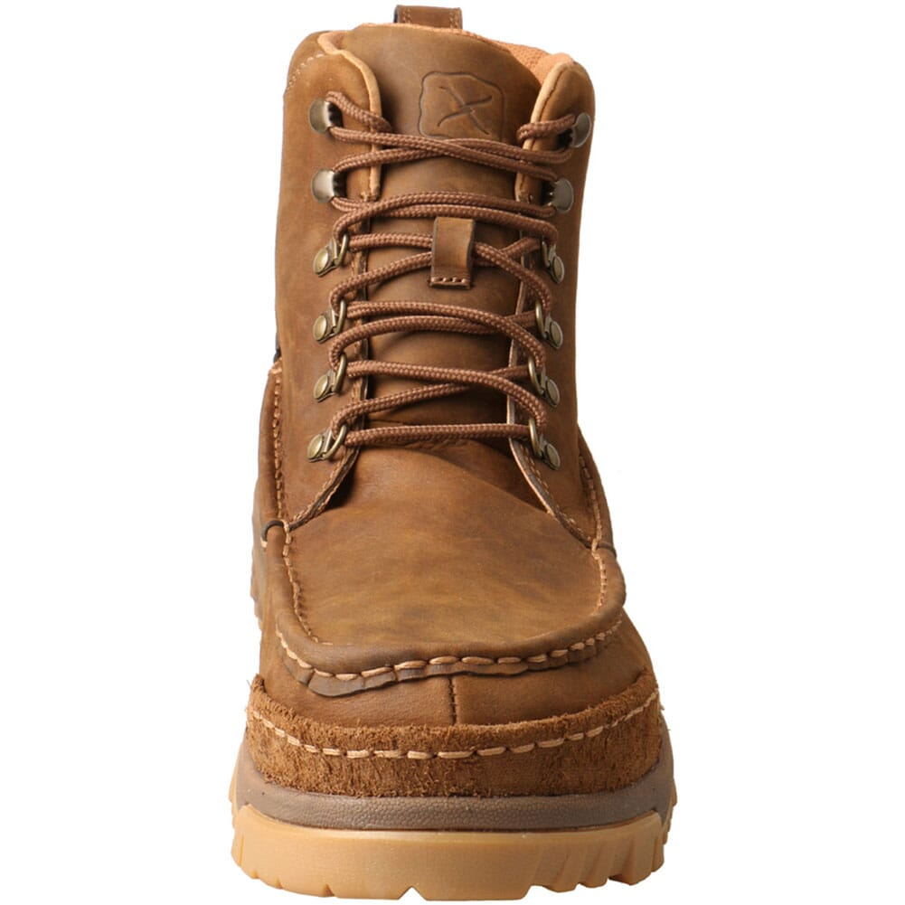 MXCC001 Twisted X Men's CellStretch CT Safety Boots - Distressed Saddle