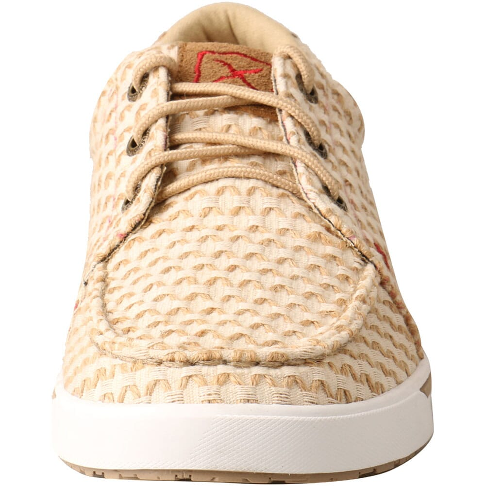 WCA0028 Twisted X Women's Kicks Casual Shoes - Sand Shell Tweed