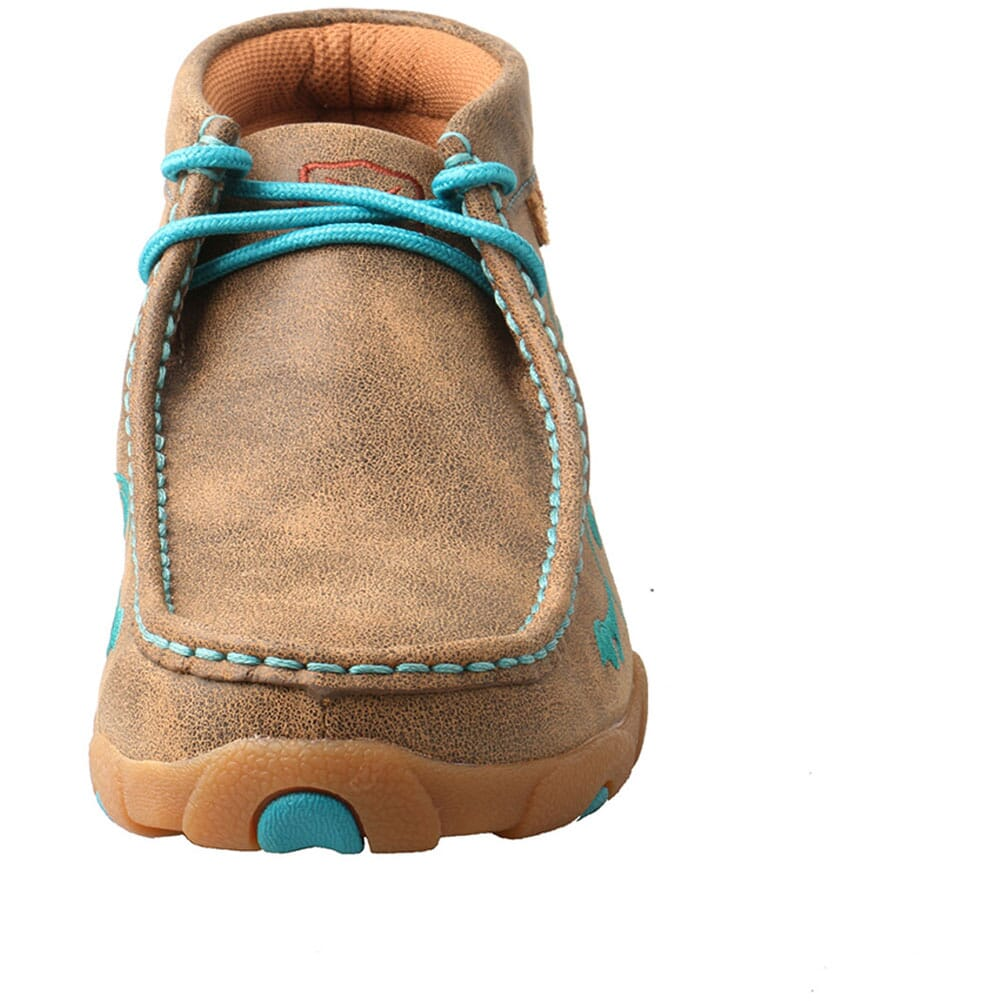 WDM0117 Twisted X Women's Driving Moc Chukka - Bomber/Turquoise